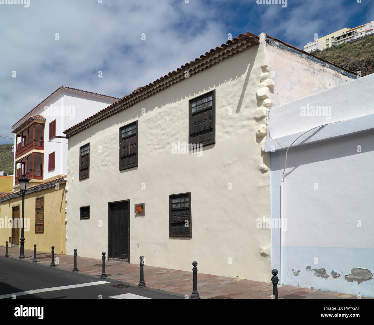 Casa de col n columbus house san sebastian de la gomera - Casa san sebastian ...