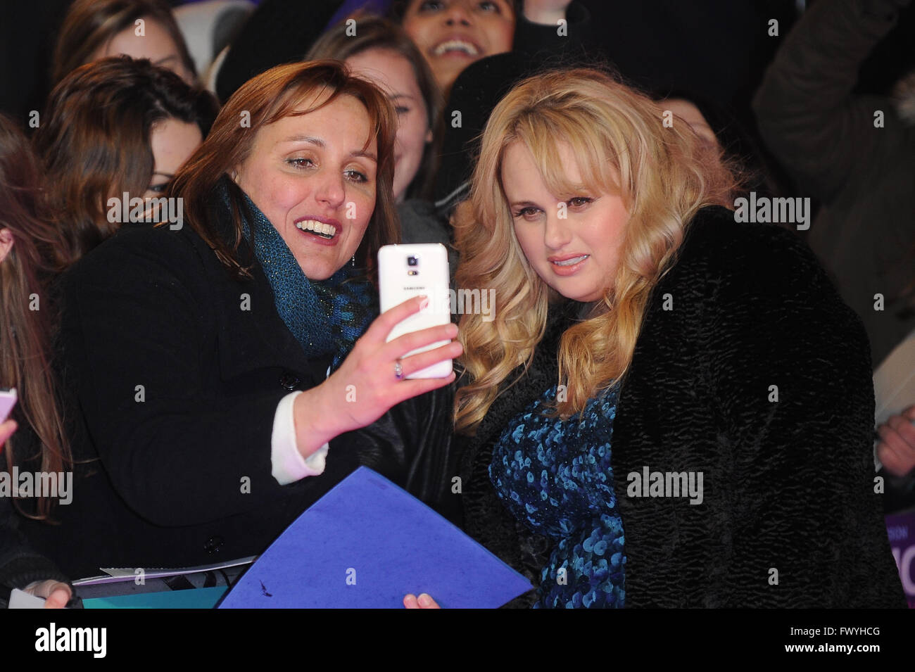 Rebel Wilson Attends The Uk Premiere Of How To Be Single At Vue West End In  London 9th February 2016 © Paul Treadway