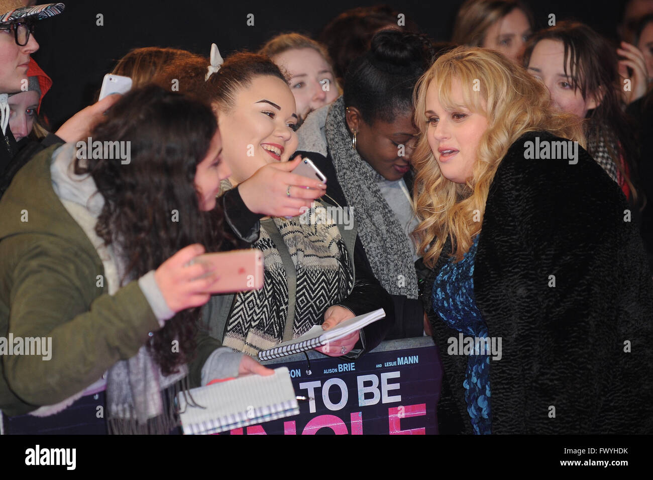 Rebel Wilson Attends The Uk Premiere Of How To Be Single At Vue West End In