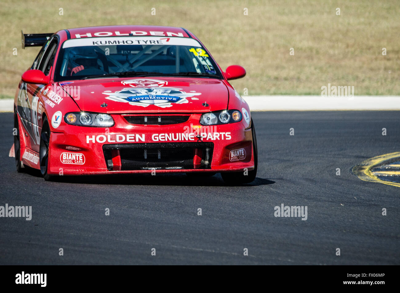 Sydney, Australia. 09th Apr, 2016. Sydney Motorsport Park Played Host To  The New South Wales Motor Race Championships Round 2 Qualifying Sessions  Which ...