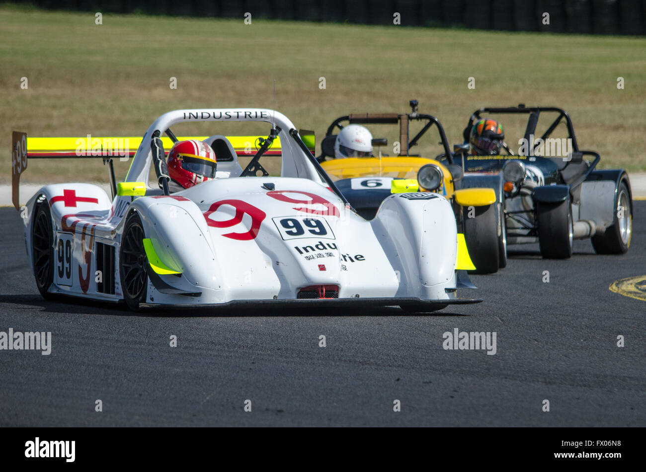 Stock Photo   Sydney, Australia. 09th Apr, 2016. Sydney Motorsport Park  Played Host To The New South Wales Motor Race Championships Round 2  Featuring A Wide ...