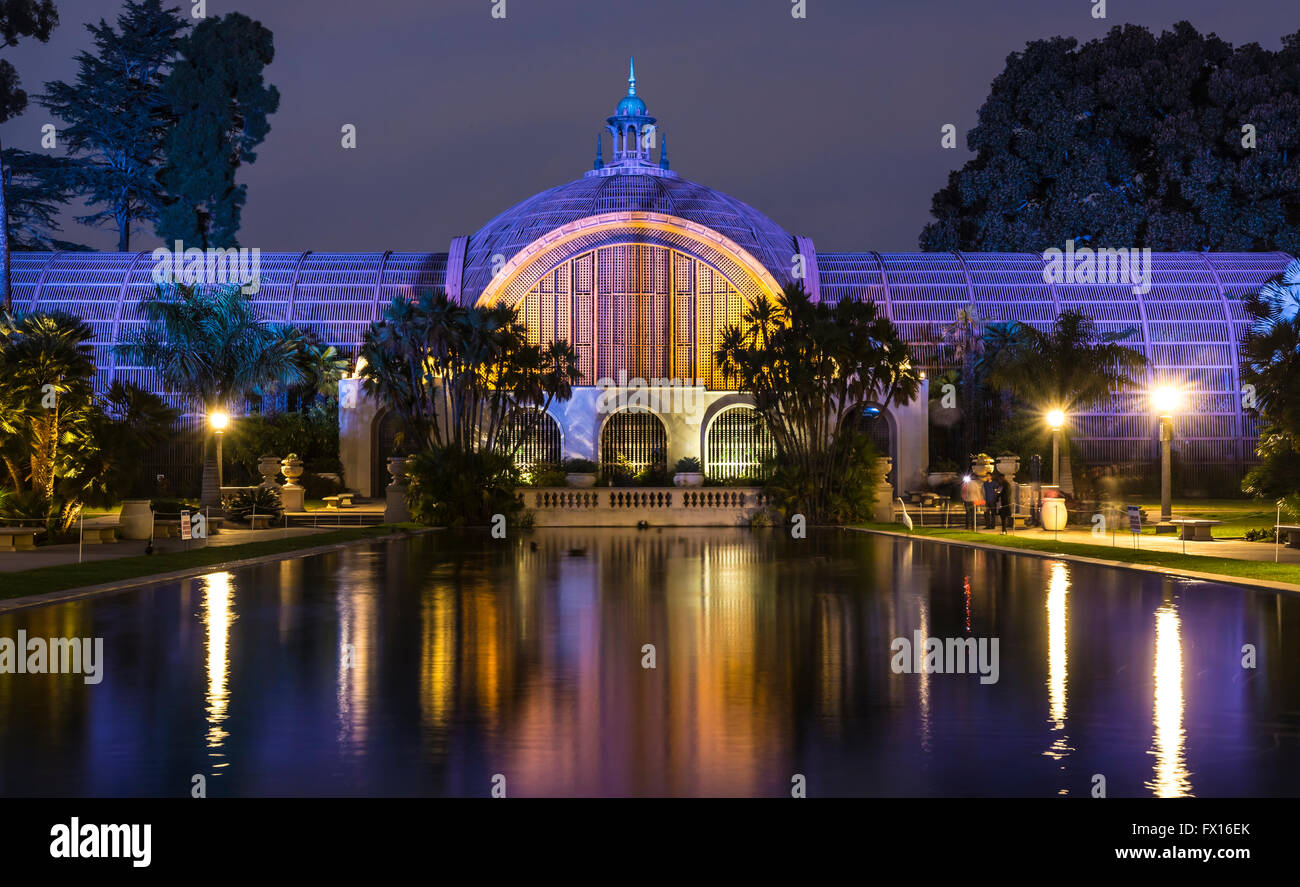 Balboa Park Botanical Garden Building In San Diego Ca