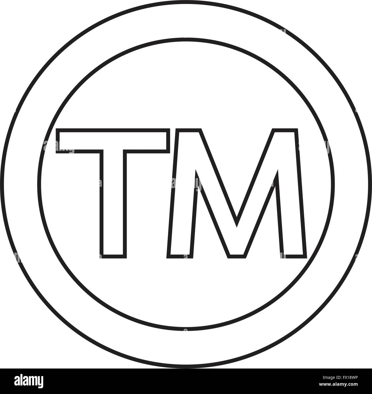 Trademark symbol icon stock vector art illustration vector trademark symbol icon buycottarizona