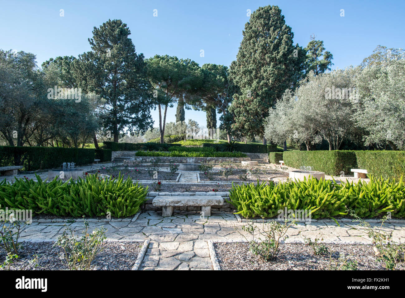 Ramat Hanadiv Is A Nature Park And Garden Covering 4.5 Km At The Southern  End Of Mount Carmel, Israel