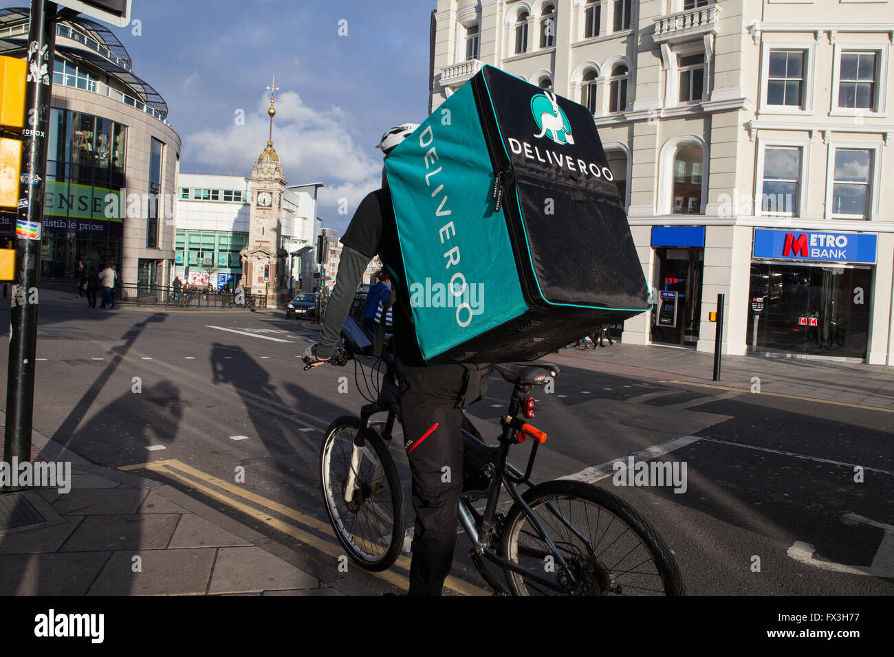 Bicycle Courier Stock Photos Bicycle Courier Stock Images Alamy