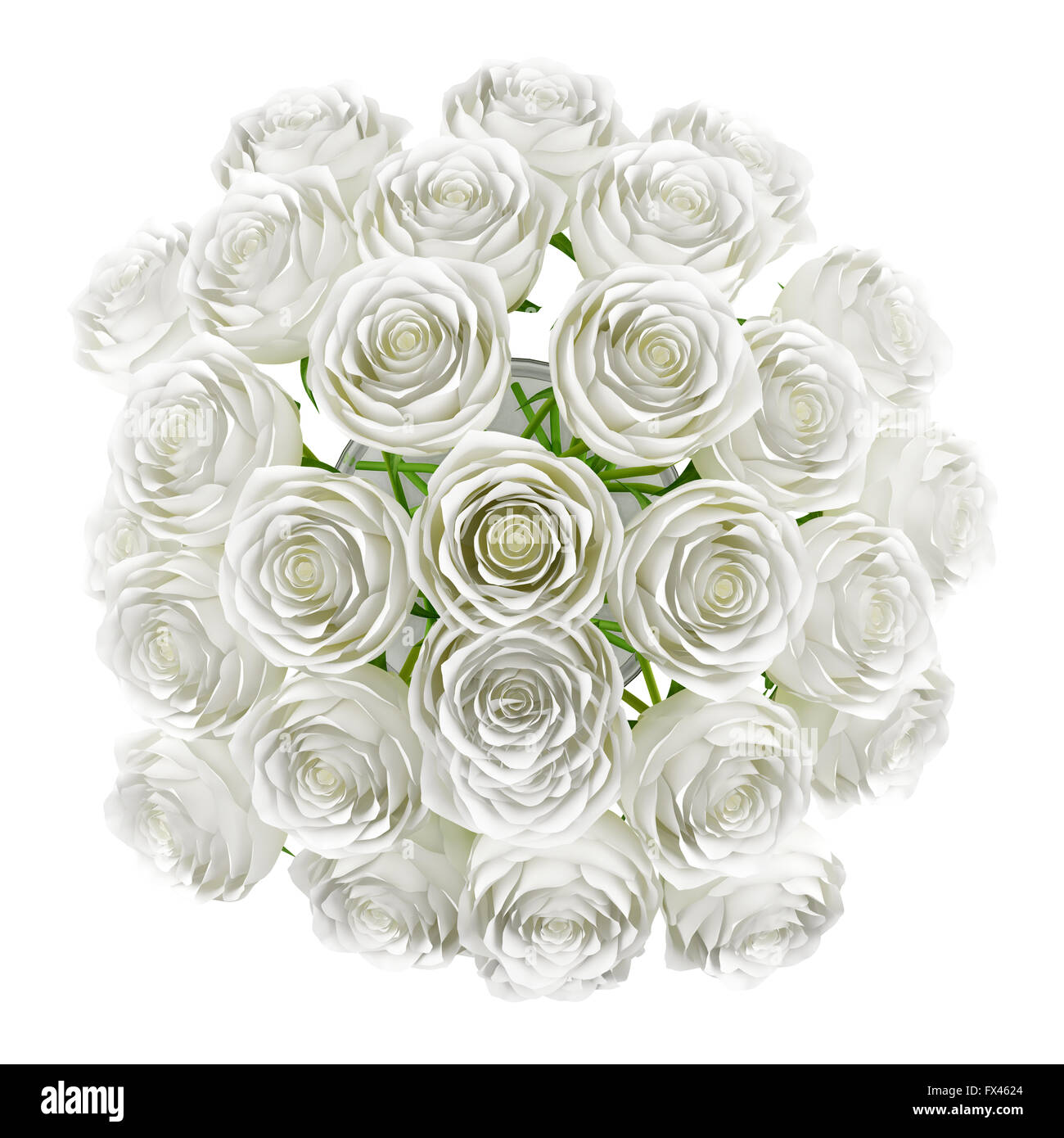 Top view of roses in glass vase isolated on white background stock top view of roses in glass vase isolated on white background reviewsmspy
