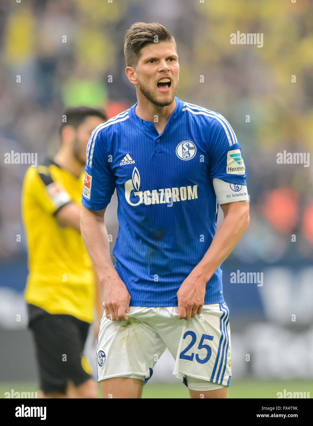 Gelsenkirchen Germany 10th Apr 2016 Schalke s Klaas Jan