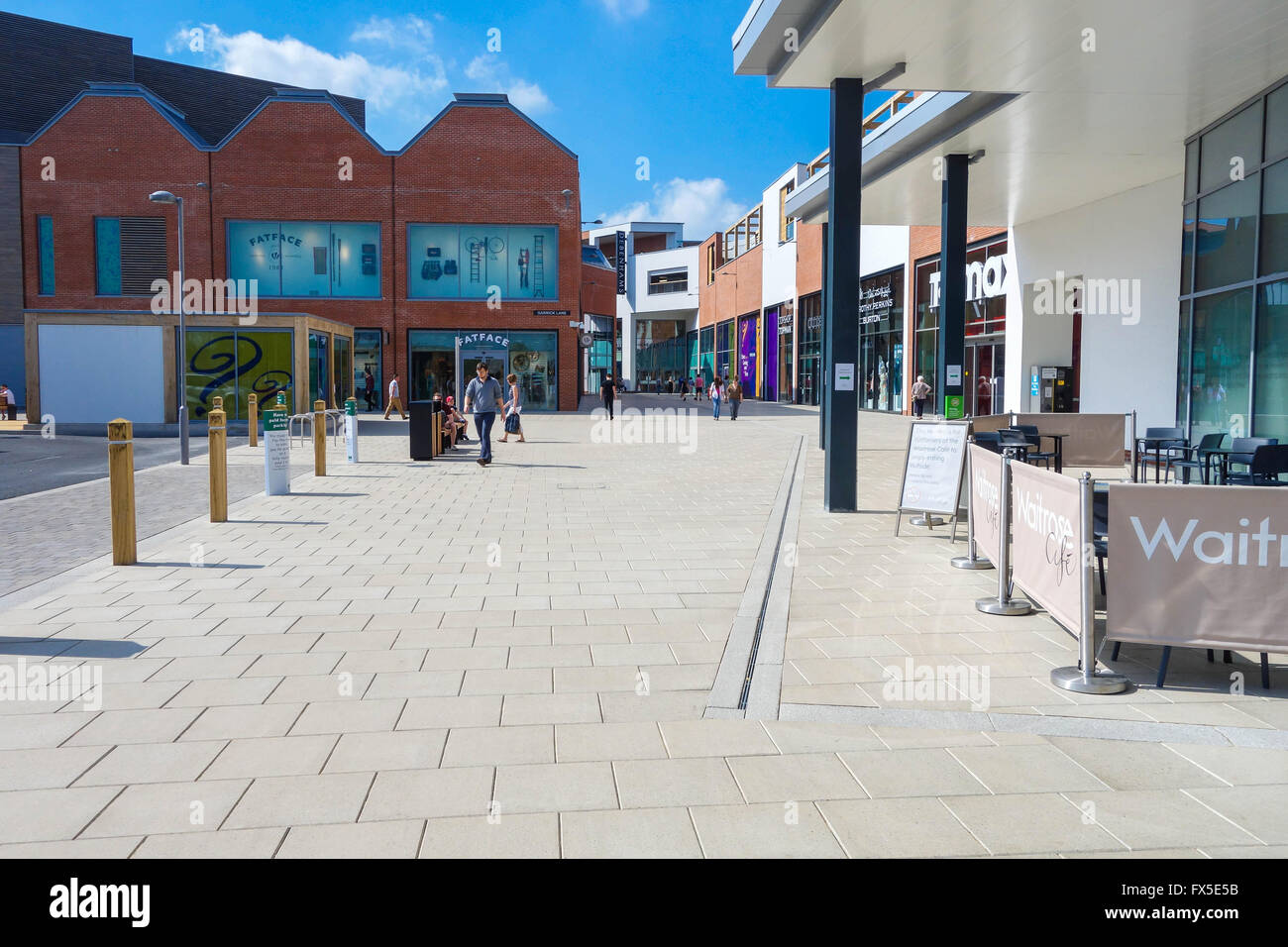 Shopping centre development of the old market hereford uk for Outlet herford
