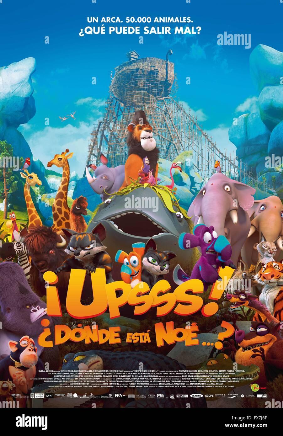 Year 2015 Germany Belgium Director Toby Genkel Sean McCormack Animation Movie Poster Esp
