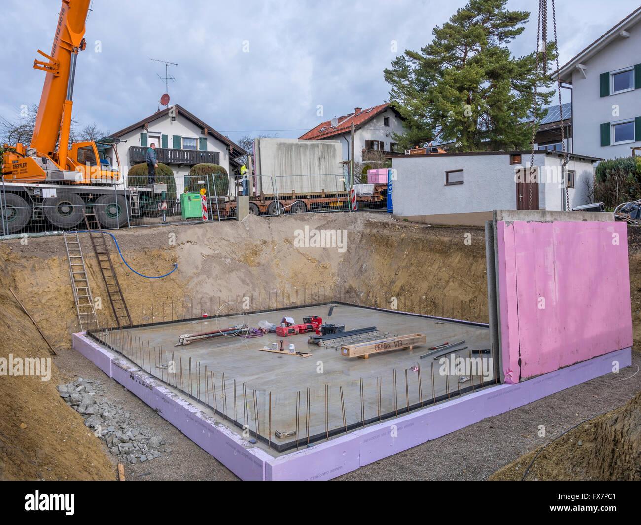 Precast Concrete Basement Walls Kitchen Aid Ice Cream 5