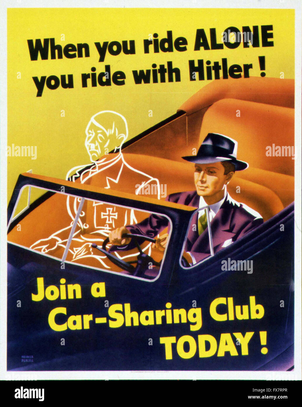 When You Ride Alone You Ride With Hitler ! - World War II - U.S ...