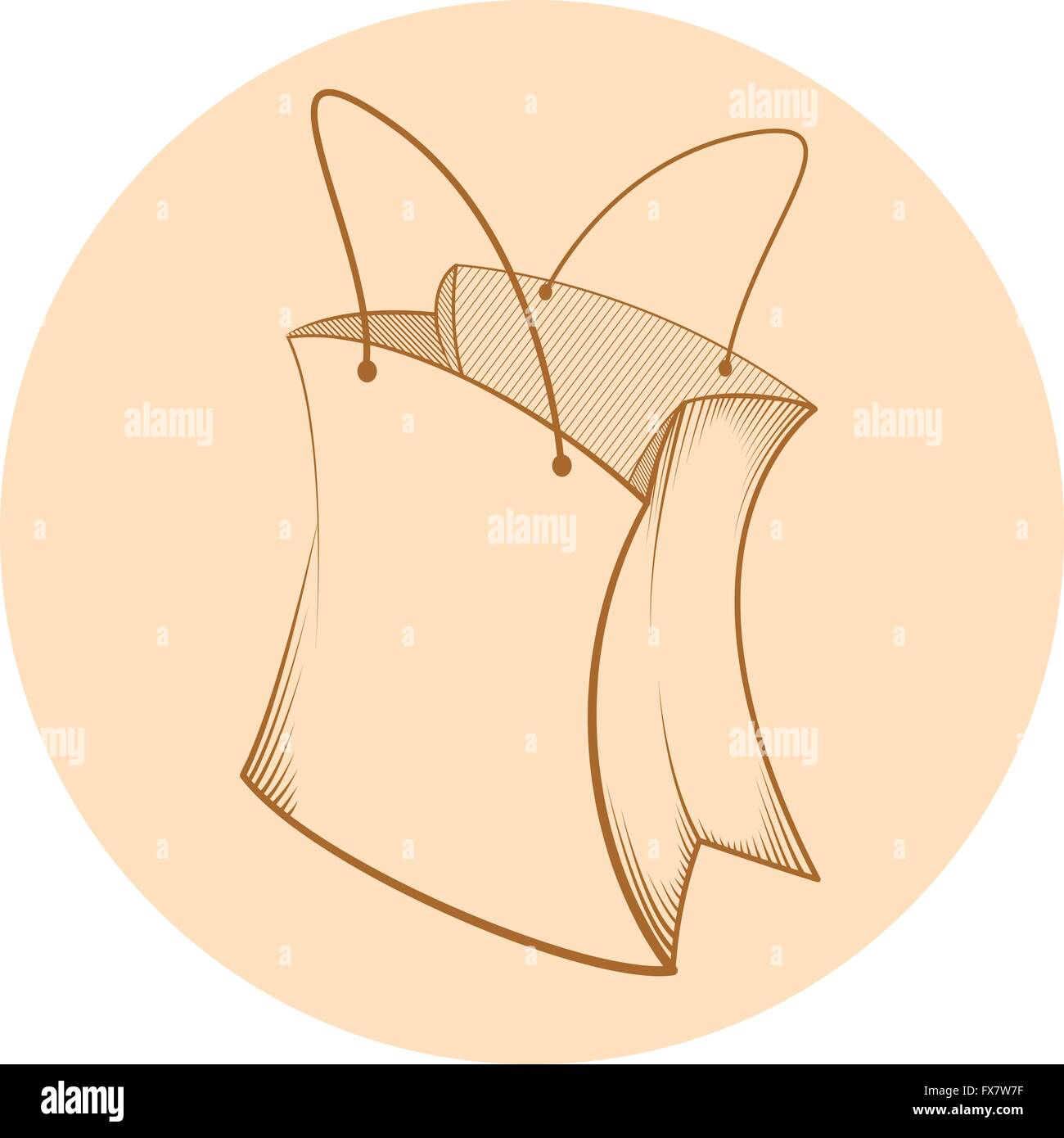 Paper bag sketch - Sketch Of Paper Bag