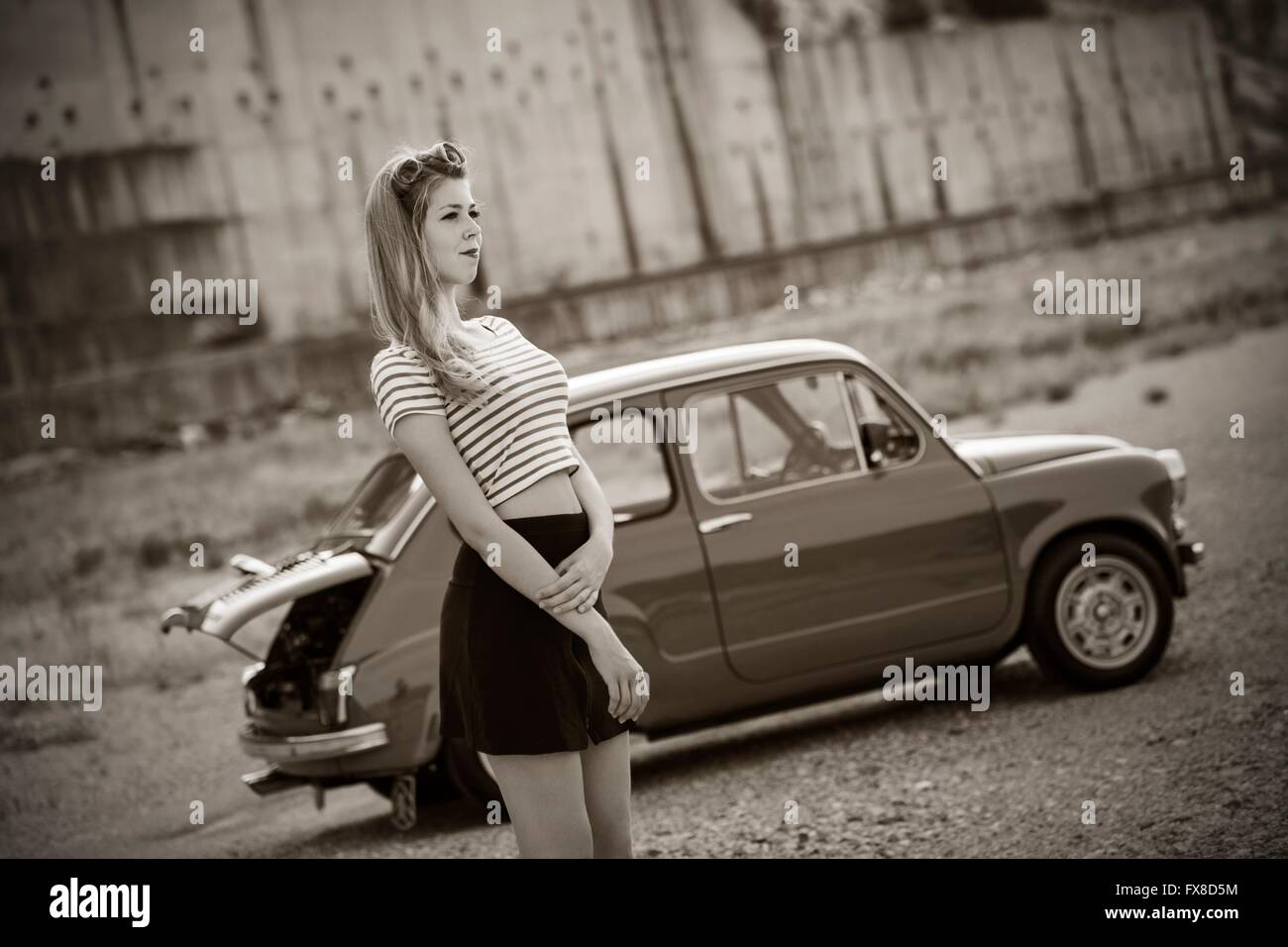 Beautiful Classic Fiat Car Wallpapers - Old Fiat Cars Gallery and ...
