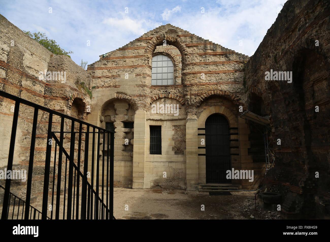 Extrêmement France Paris Cluny Museum Stock Photos & France Paris Cluny Museum  CN54