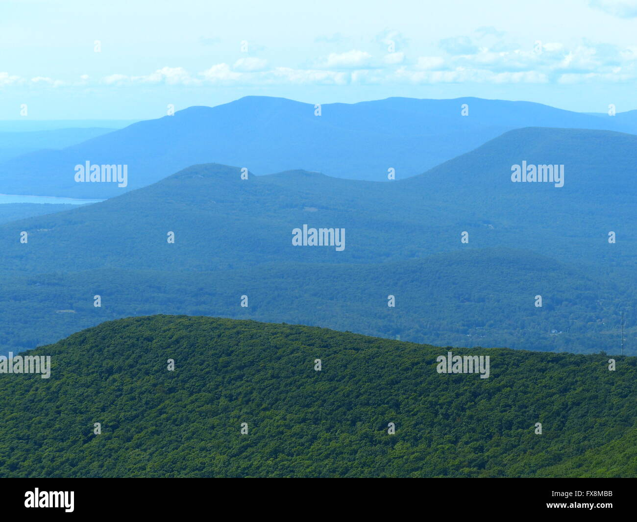 Catskill Mountains In Northeastern United States Stock Photo - United states mountains