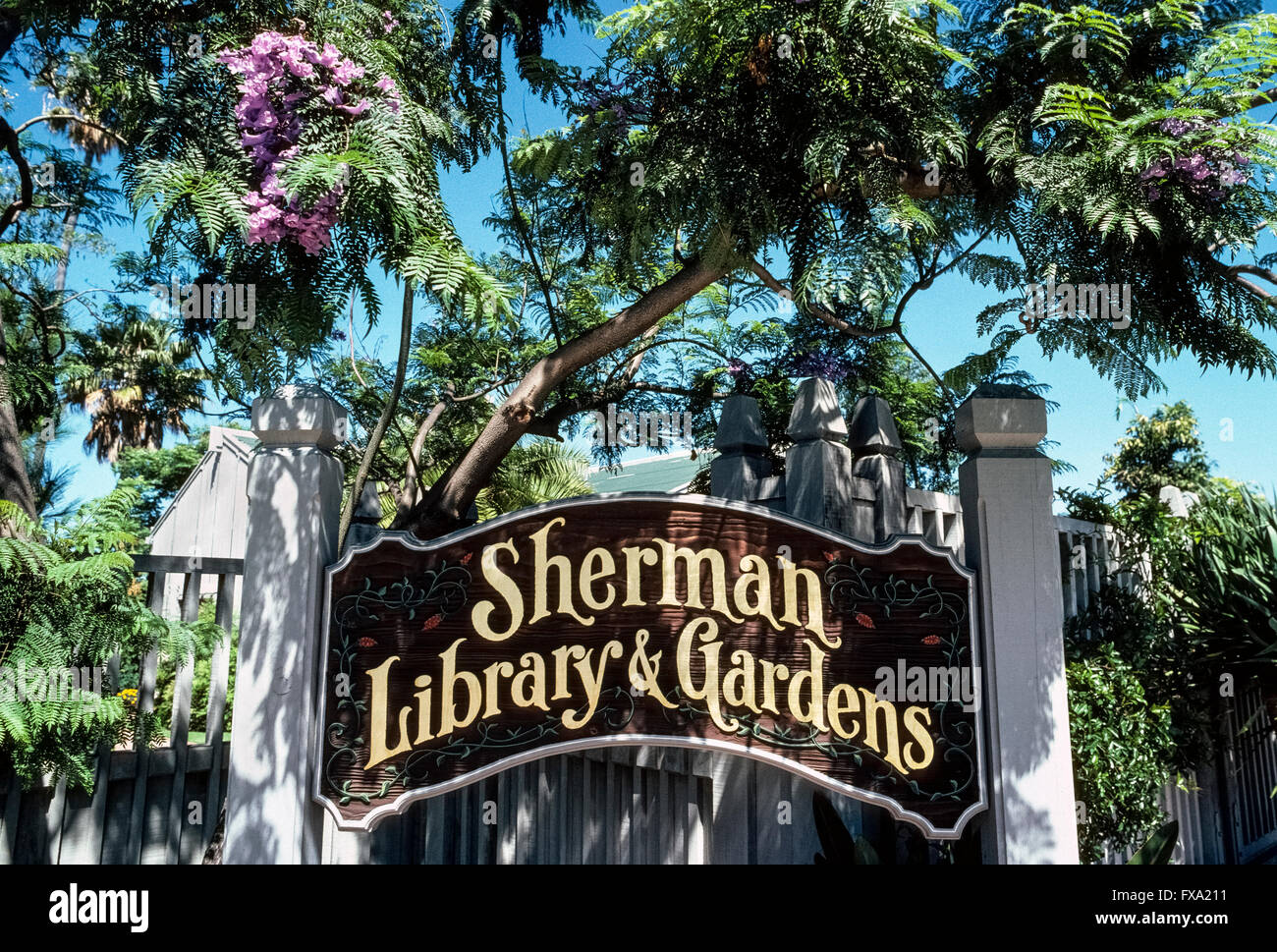 Attractive Stock Photo   The Sherman Library U0026 Gardens In Corona Del Mar, Orange County,  California, USA, Is A Unique Tourist Attraction With Plants From Around The  ...