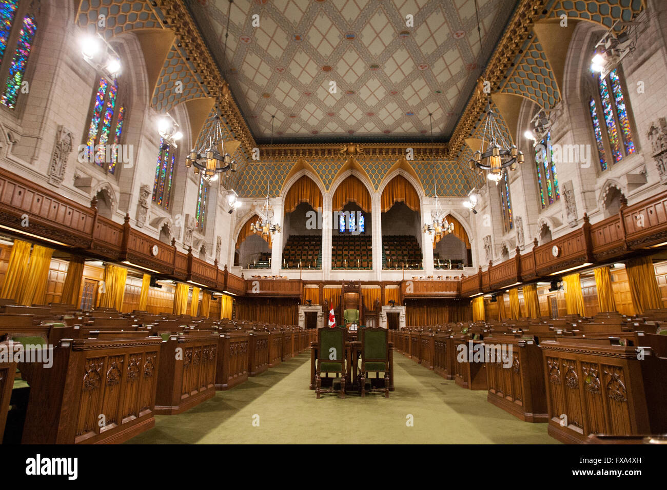 House Of Commons Foyer Canada : The house of commons inside parliament hill in ottawa ont