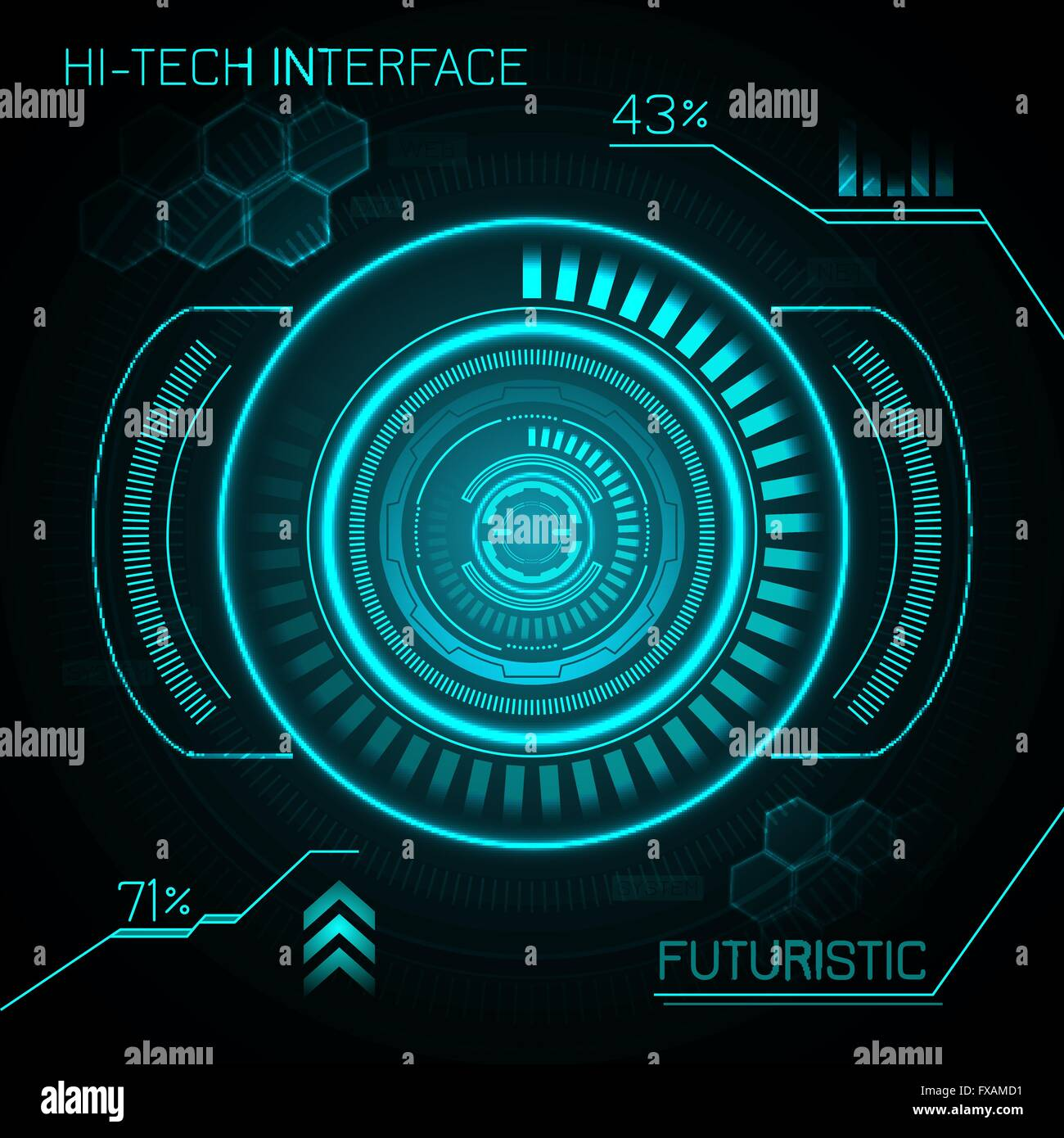 futuristic vector background - photo #42