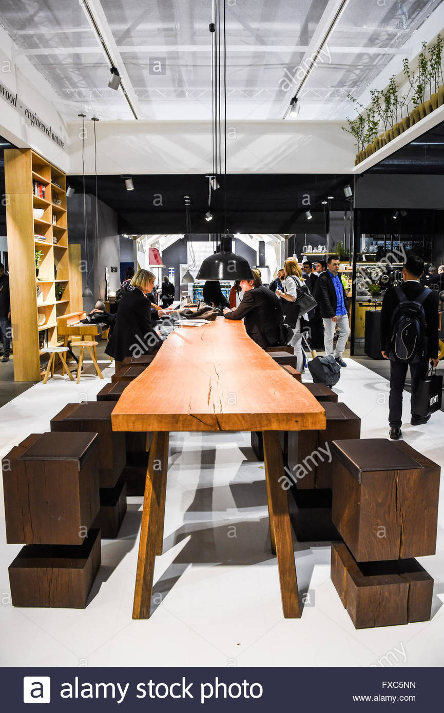 Italy milan april 13 2016 fiera del mobile furniture for Fiera del mobile rho