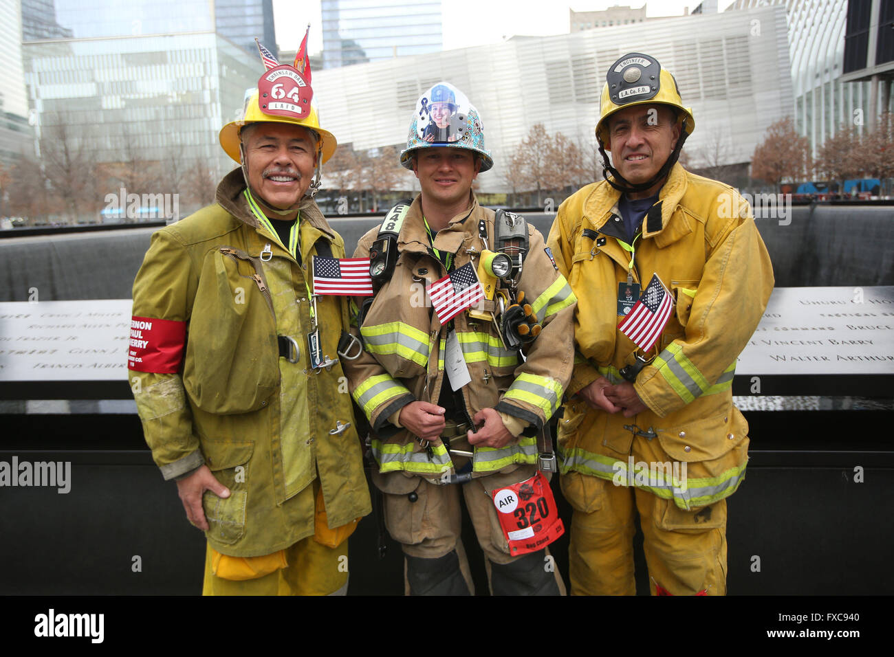 New York City, Ny, Usa. 13th Mar, 2016. From Left, Lafd ...