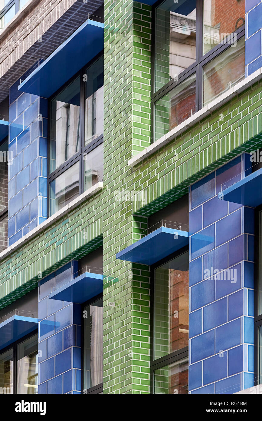Brickwork Colorful Glazed Brick And Window Reveals 36