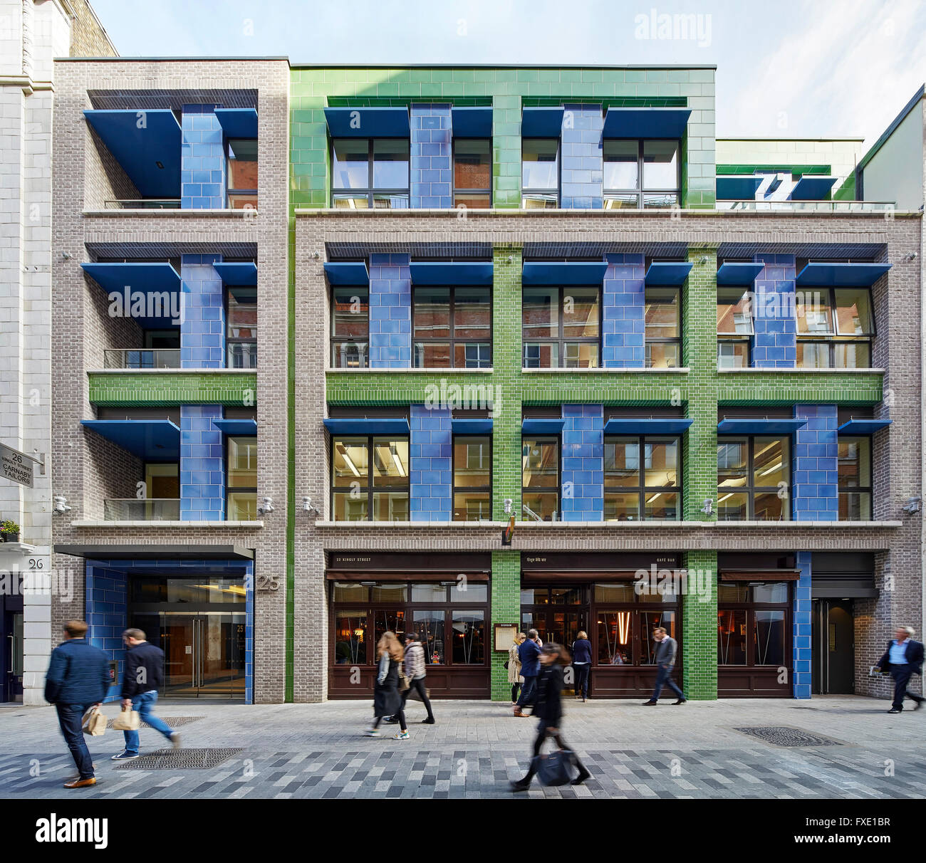 Front Elevation Uk : Front elevation carnaby street court london