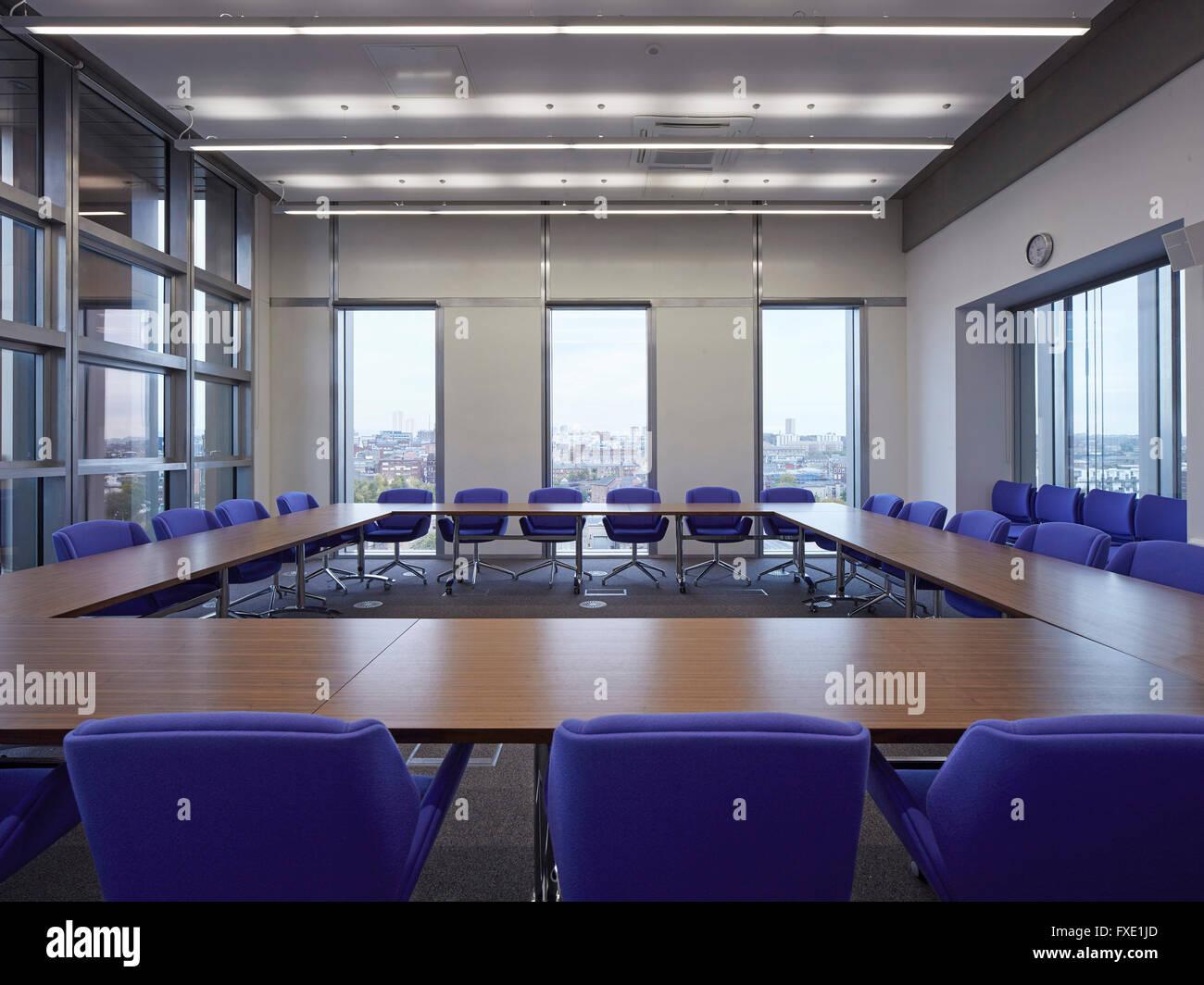 Interior View Of Admin Area On Upper Level City Glasgow College