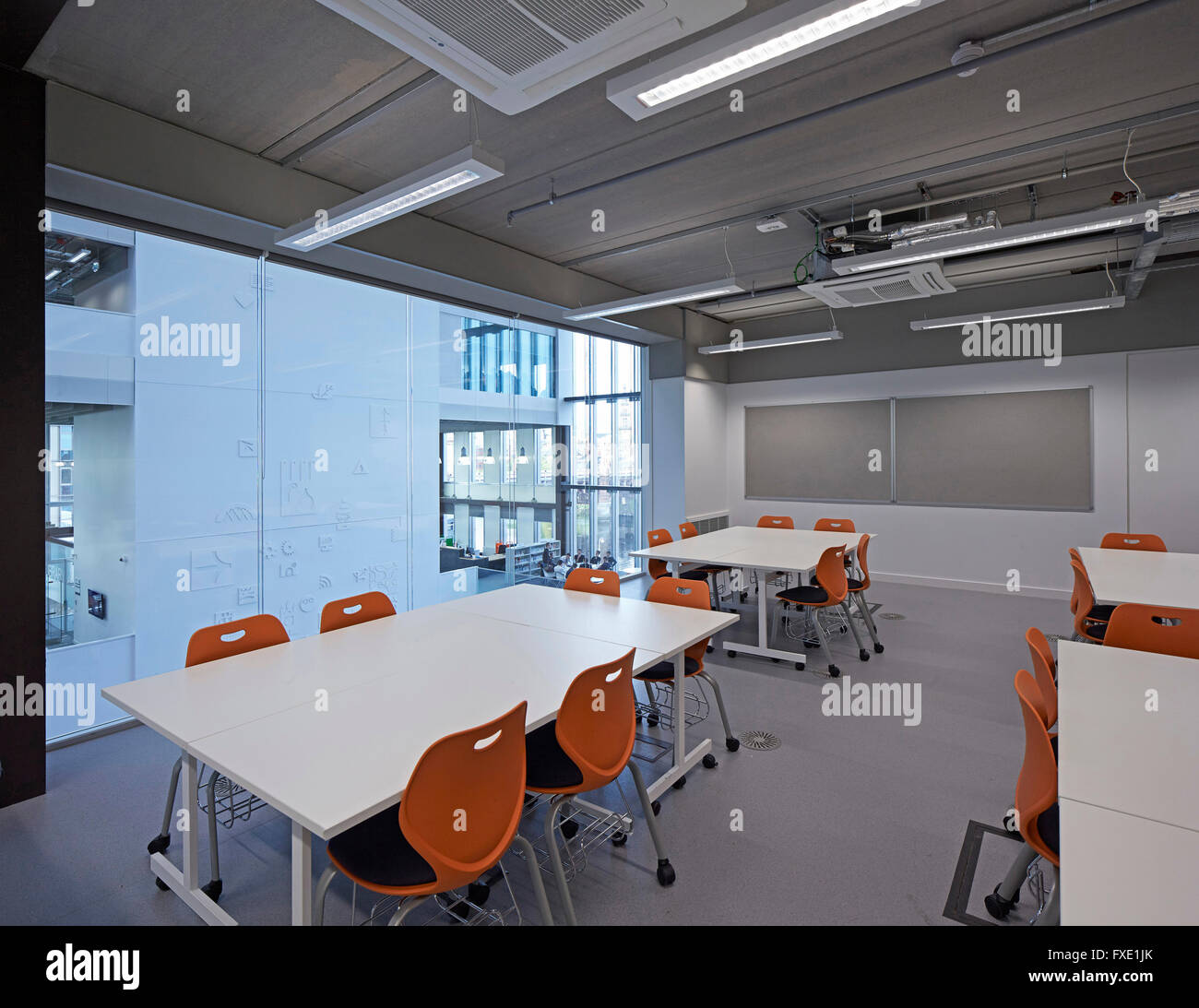 Interior View Of Typical Classroom City Glasgow College