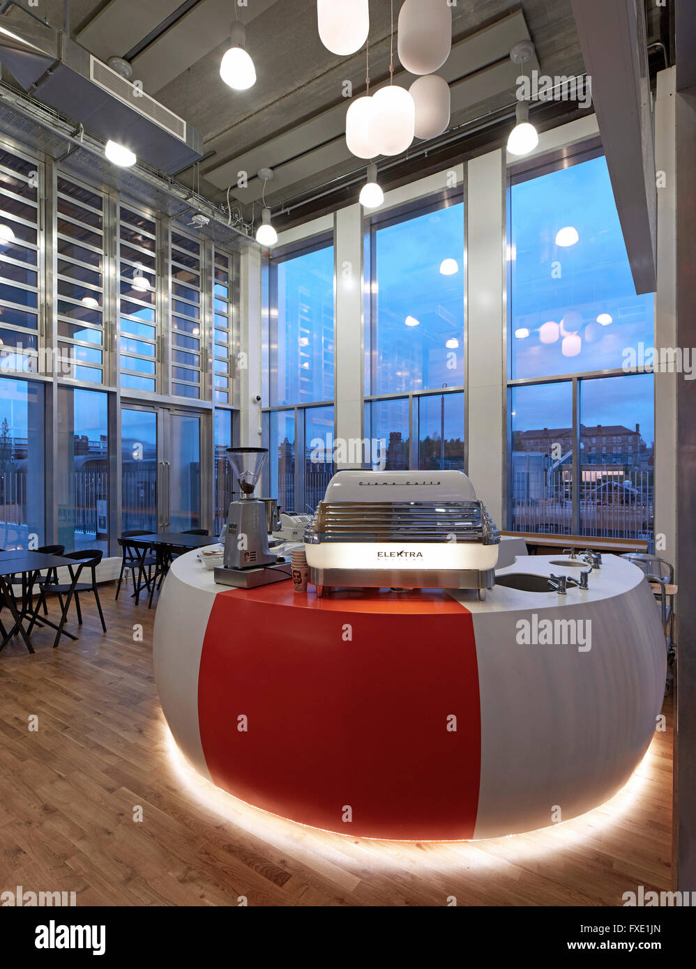 Interior View Of Ground Floor Cafe City Glasgow College