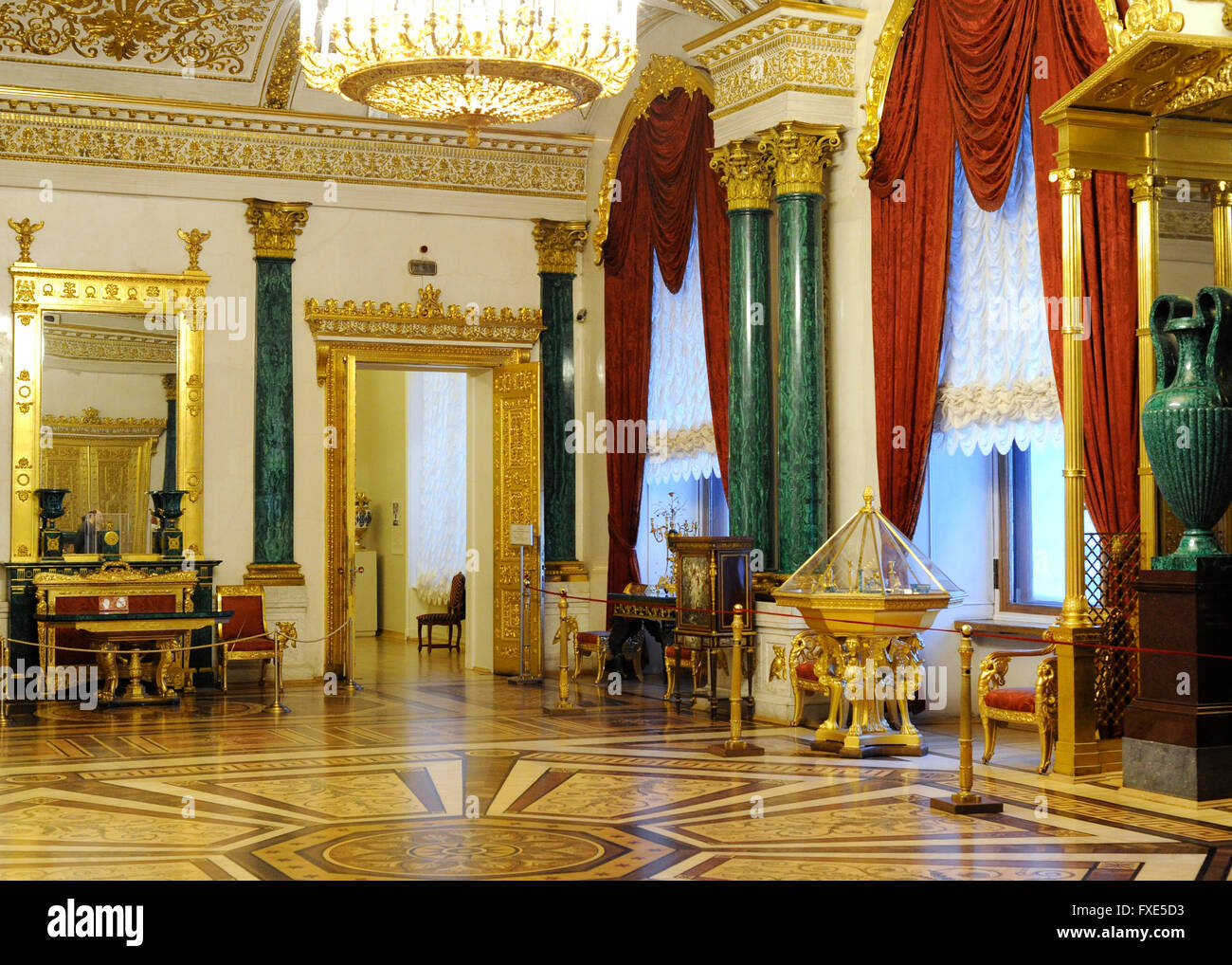 The State Hermitage Museum Winter Palace The Malachite
