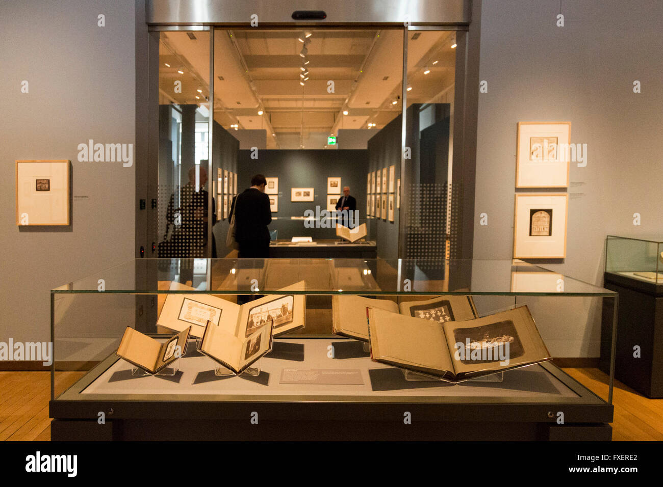London UK 13 April 2016 The exhibition Fox Talbot Dawn of the