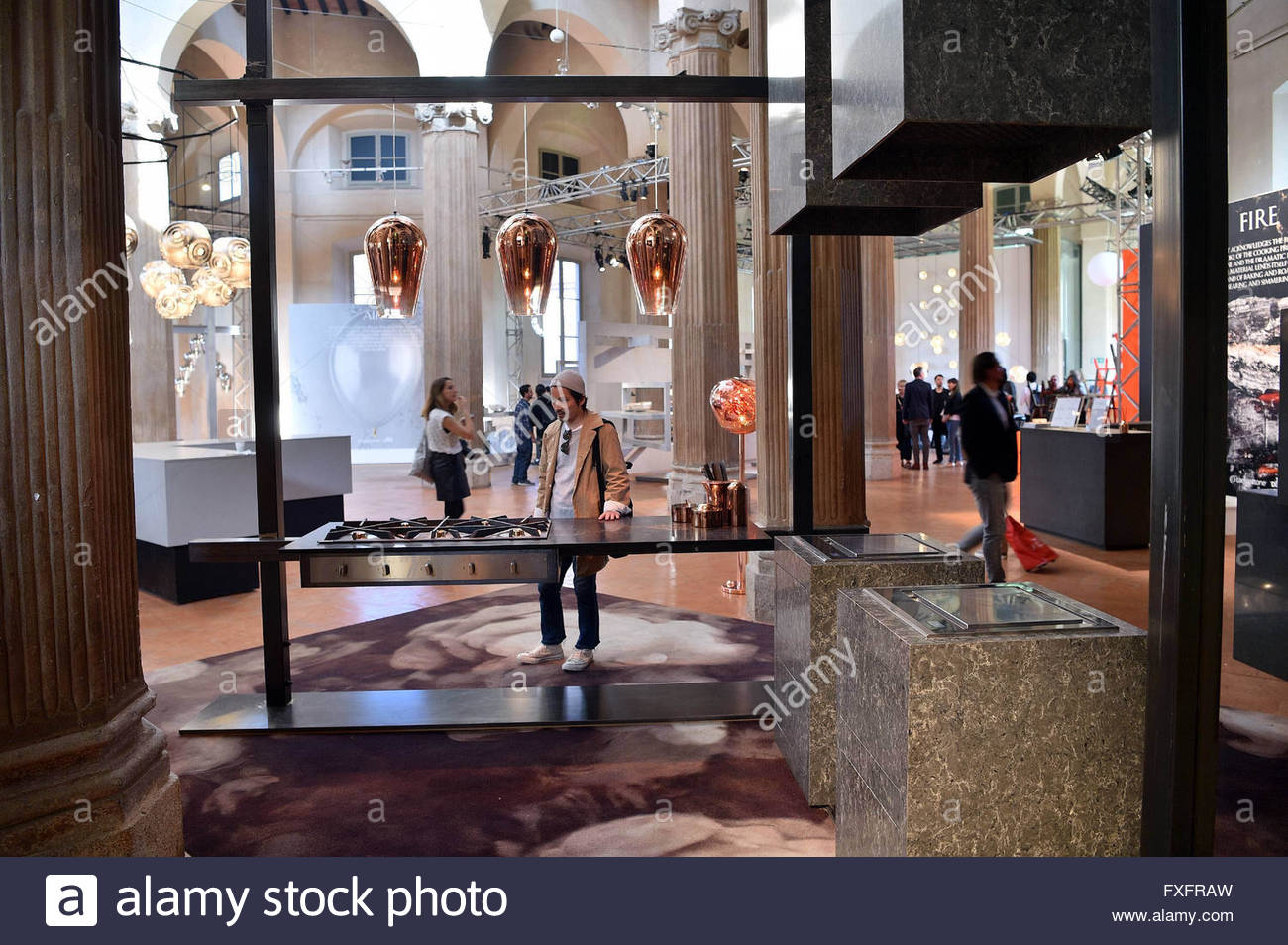 Italy Milan April 15 2016 Fiera Del Mobile Furniture Fair  # Muebles Tom Mobel