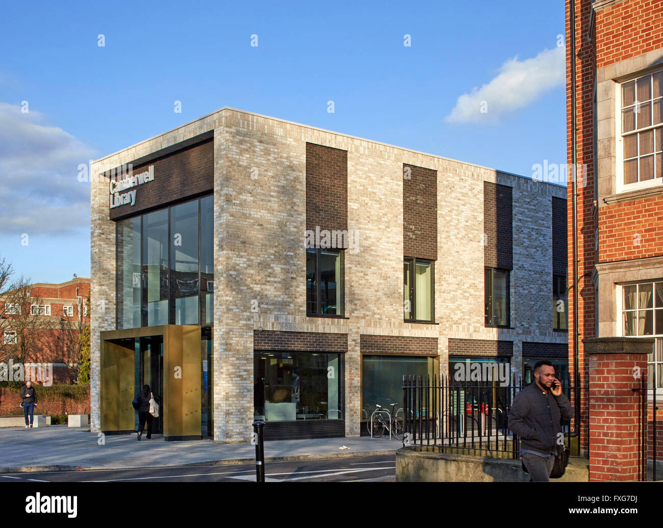 Overall Exterior View Camberwell Library London United Kingdom Architect John McAslan Partners 2016