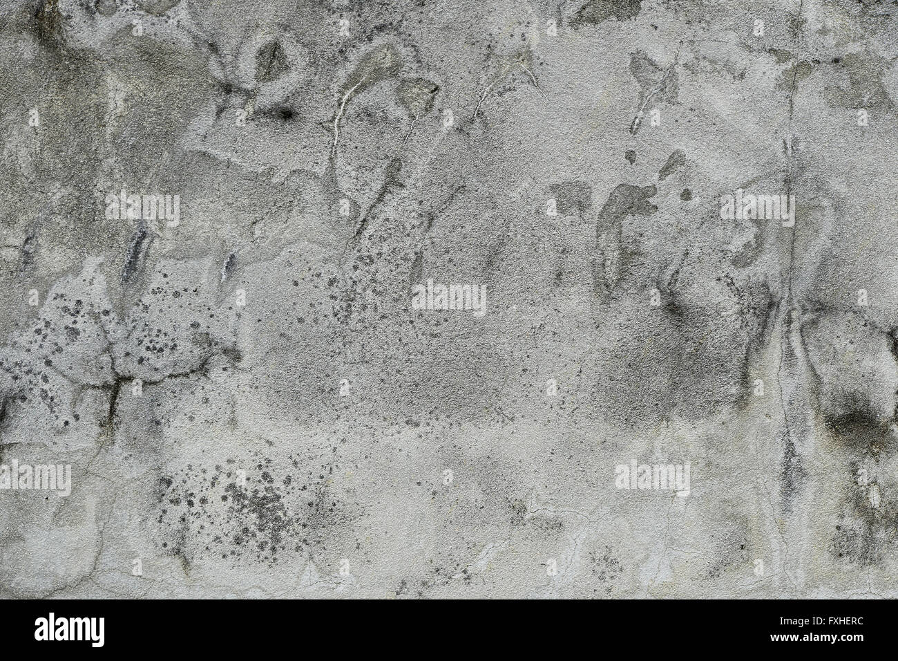 Grunge dirty concrete wall or floor panel texture with for Black stains on concrete
