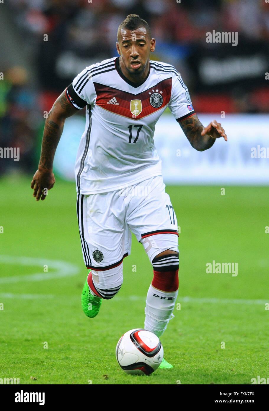 Jerome Boateng GER qualifier for UEFA Euro 2016 merzbank