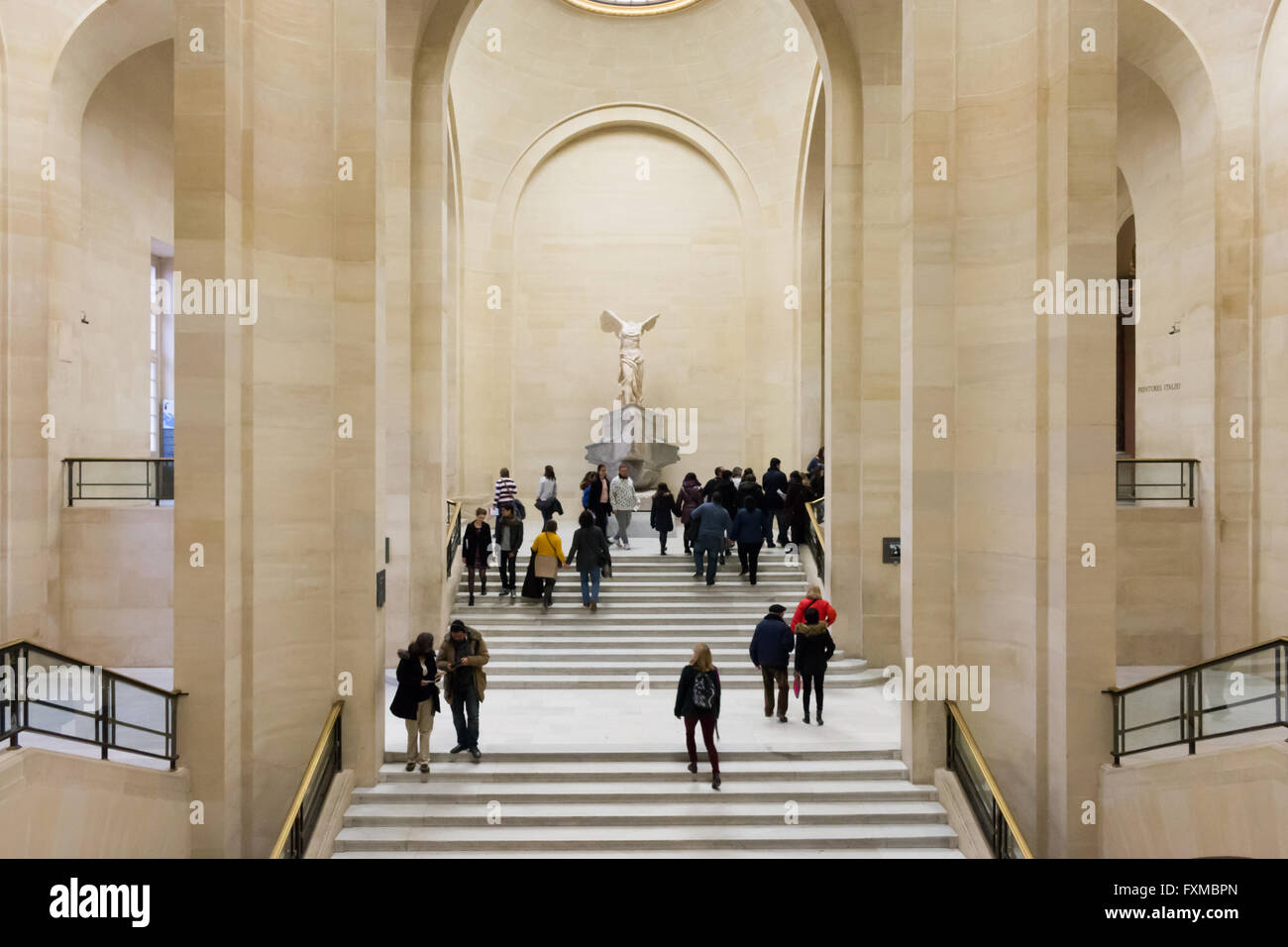 Stock Photo. Winged Victory of Samothrace (also known as the Nike of  Samothrace).