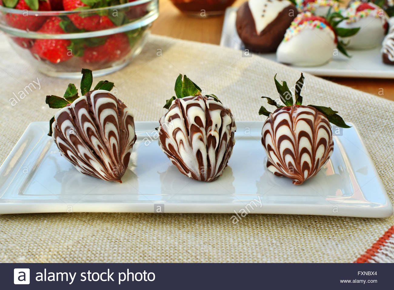 Chocolate Covered Strawberries Stock Photos & Chocolate Covered ...