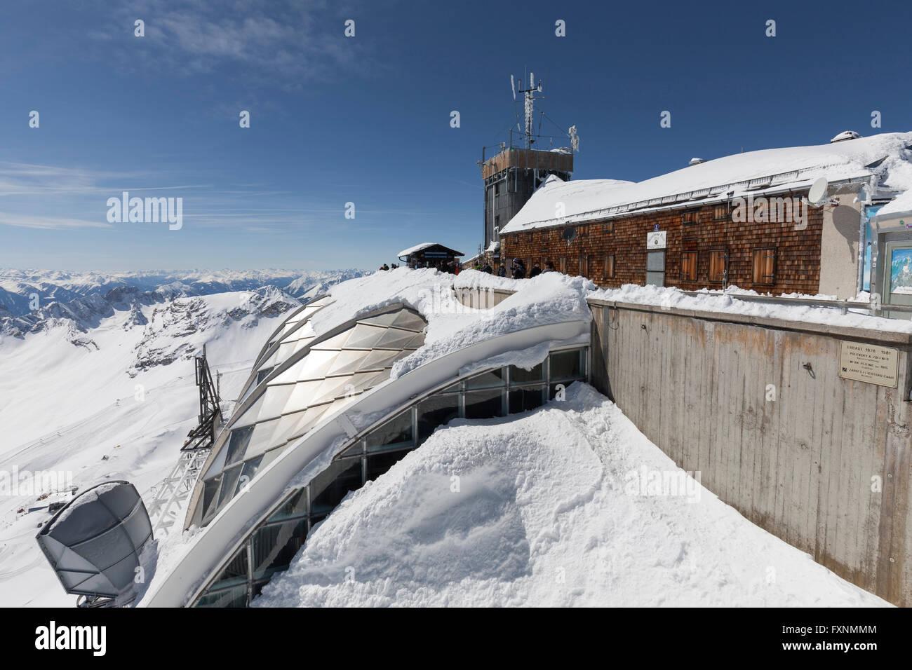 munich house weather station zugspitze bavaria bavaria stock photo royalty free image