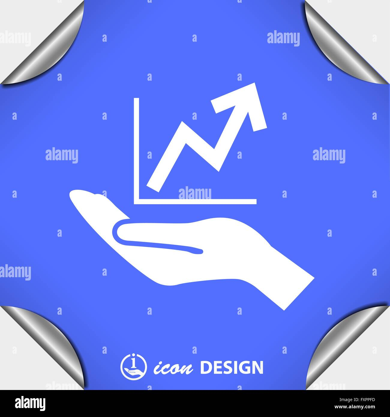 Pictograph of graph Stock Vector Art & Illustration ...