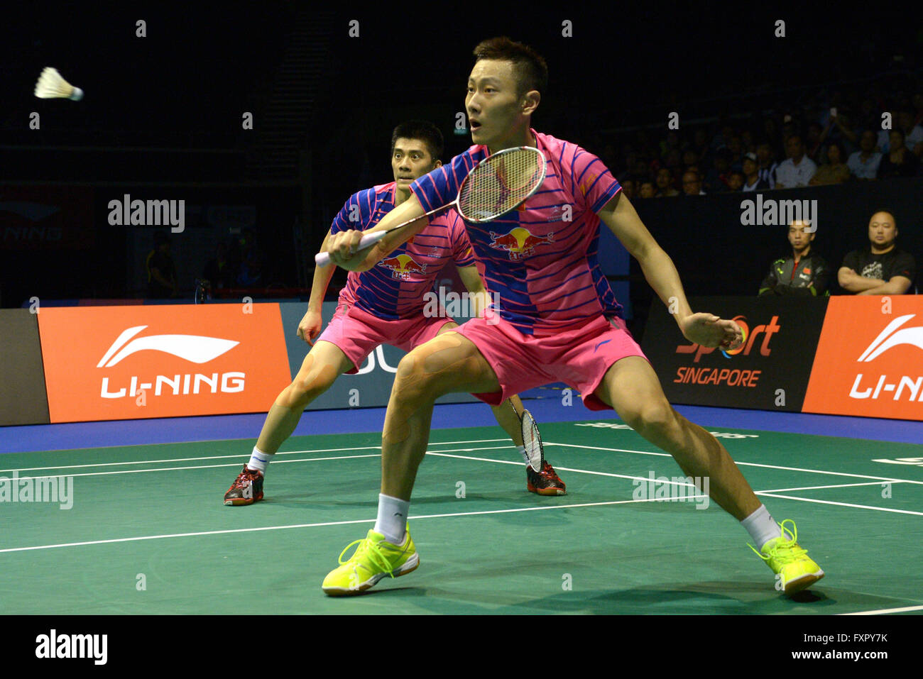 Singapore 17th Apr 2016 Fu Haifeng Zhang Nan R of China