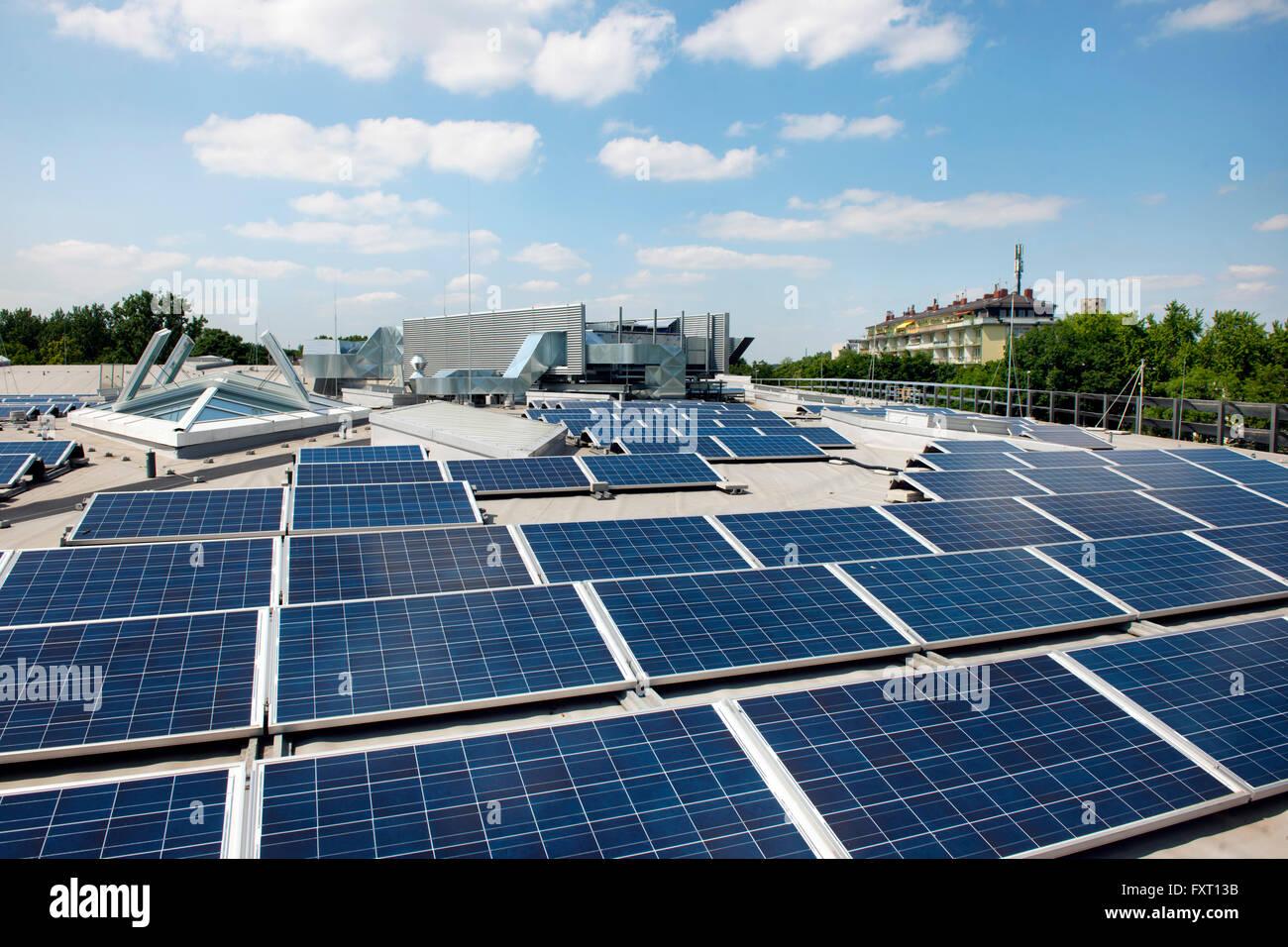 Solaranlagen Köln köln neustadt nord lentpark solaranlagen auf dem dach stock photo
