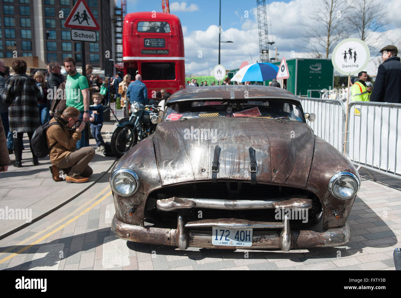 Classic Cars For Sale At The Classic Car Boot Sale In Cubitt