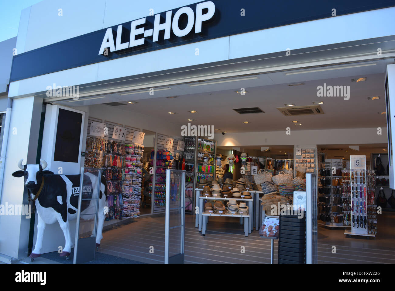 ale hop shop on the arenal javea xabia alicante valencia spain stock photo royalty free. Black Bedroom Furniture Sets. Home Design Ideas