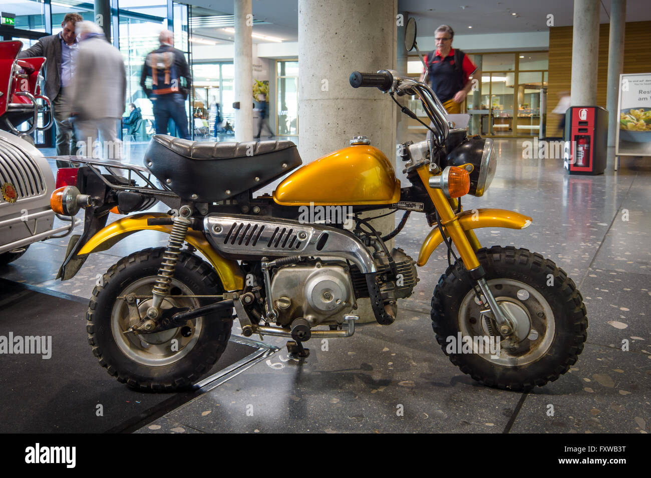 Stuttgart Germany March 17 2016 Mini Bike Honda Z50j 1973