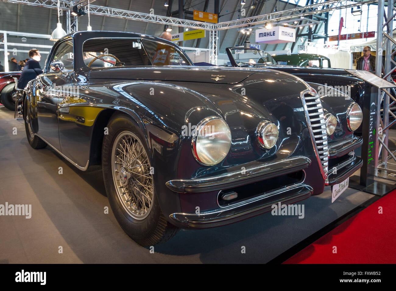 Vintage Car Alfa Romeo 6C 2500 SS Touring Superleggera Coupe, 1948