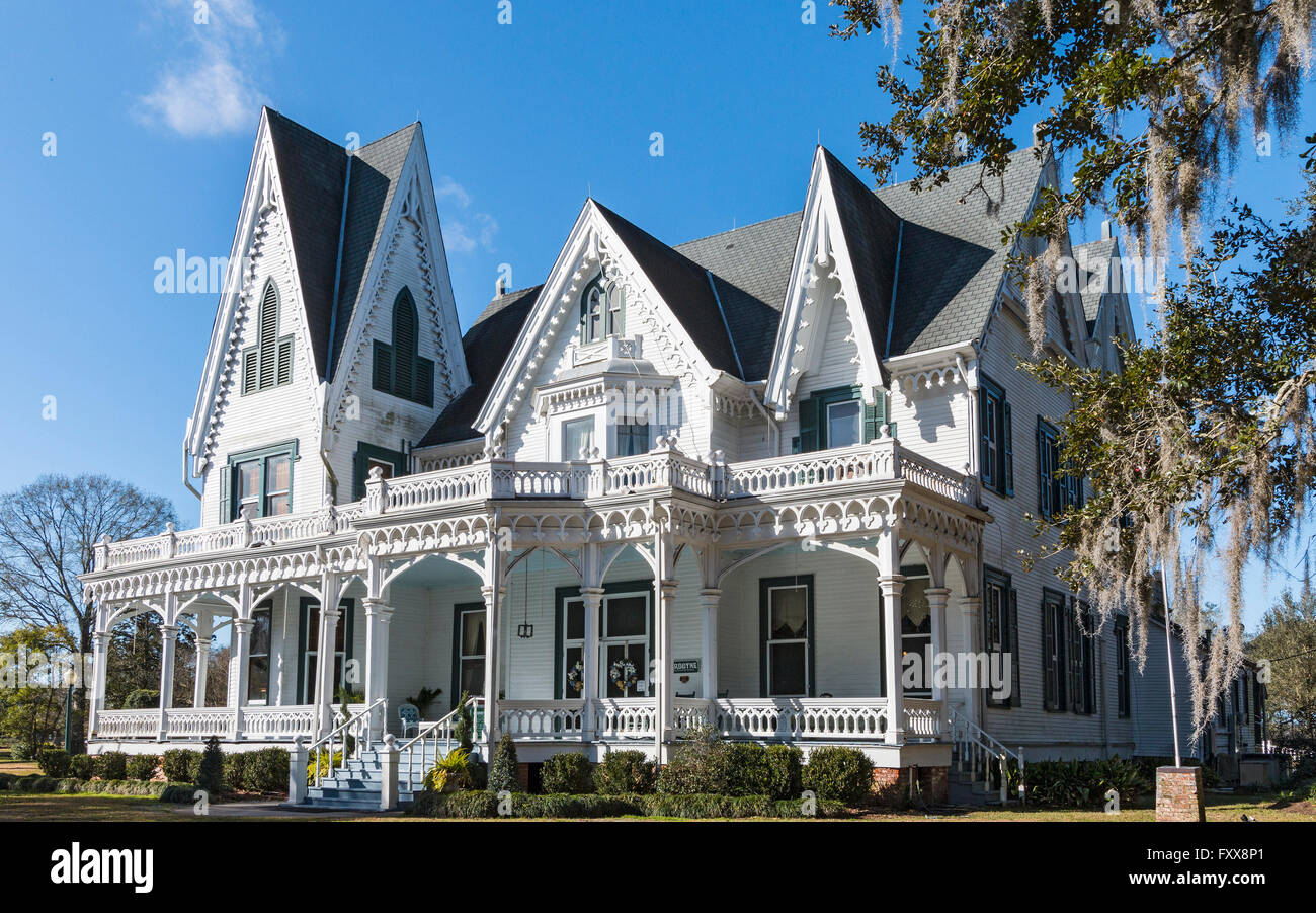 Ardoyne Plantation One Of Most Ornate Examples Southern Gothic Architecture In Louisiana