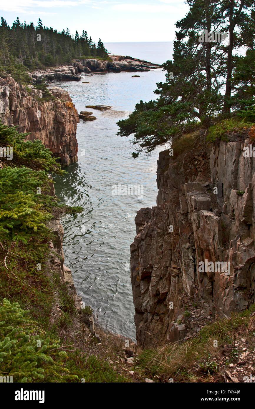 State of maine schoodic peninsula acadia national park for Acadia national park fishing