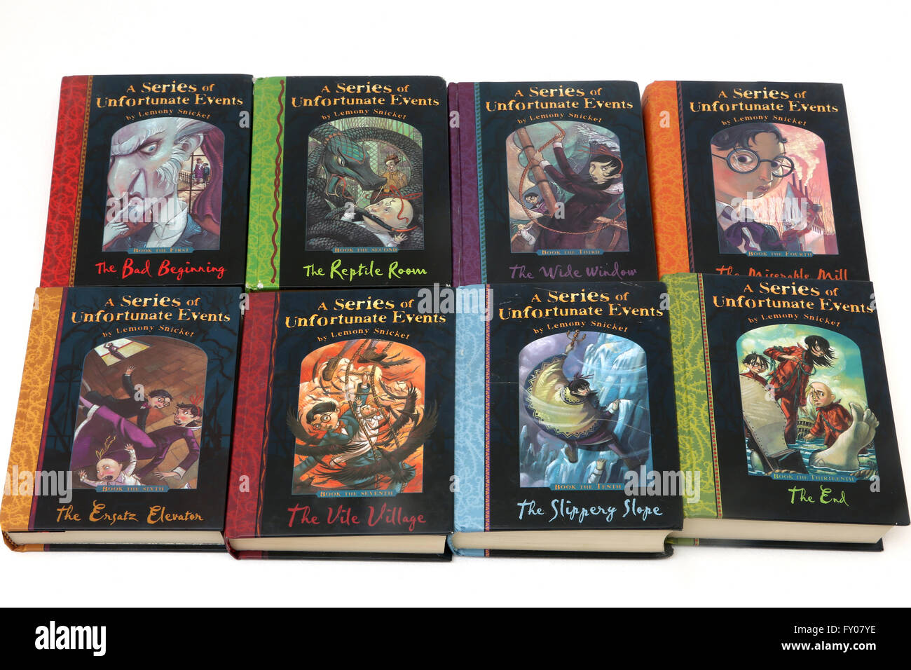 Lemony Snicket A Series Of Unfortunate Events Series Of Children Books