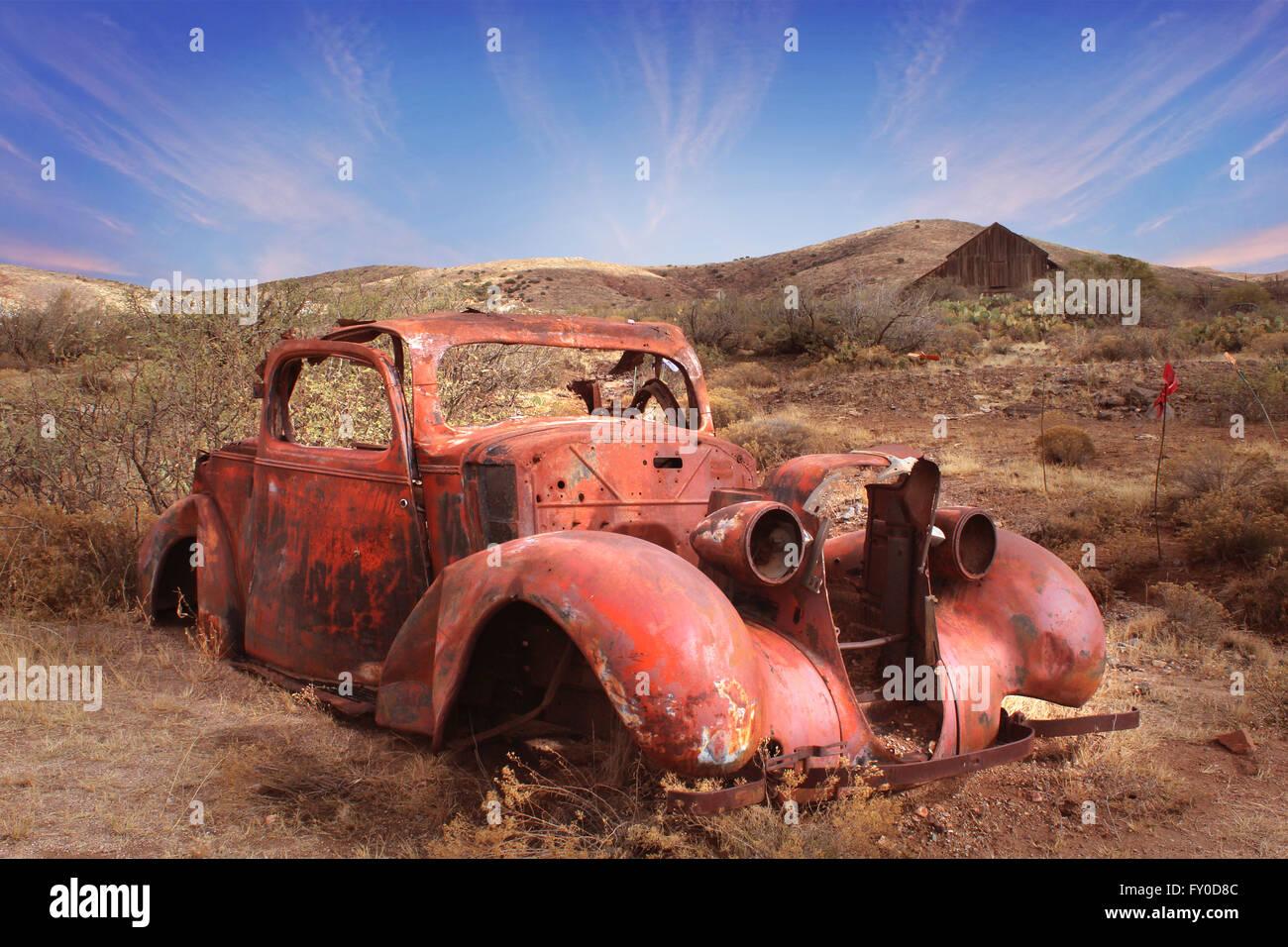 Vintage Cars Desert Stock Photos & Vintage Cars Desert Stock ...