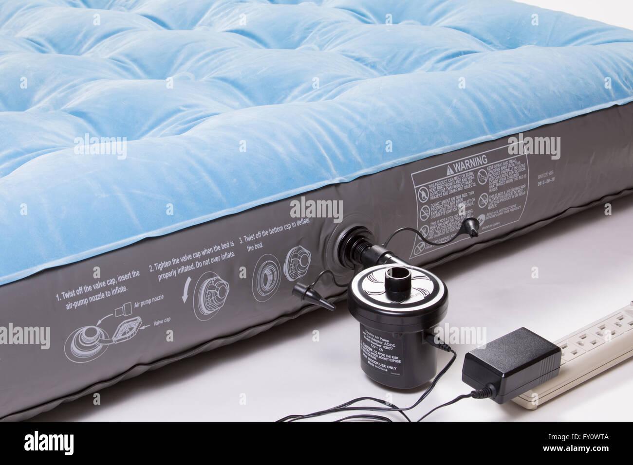 Air Mattress with Electric Pump